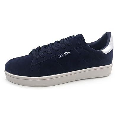 6f3fa1e86cf7 Amoji Sneaker Campus Suede Skate Fashion Leather Shoes Skateboarding Original  Women Men Ladies Adult Female Male