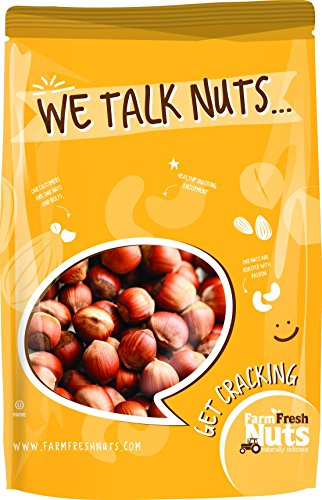 Natural In Shell Filberts/Hazelnuts -Jumbo !! FRESH NEW CROP !! by Farm Fresh Nuts (2 LB)