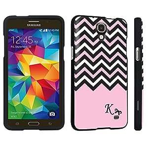 Zheng case Samsung Galaxy Mega 2 Hard Case Black - (Black Pink White Chevron K)
