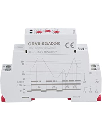 Pbzydu Rel/é de Control del Temporizador de Ciclo m/ódulo de Interruptor de retardo de Tiempo Ajustable 3V 3.7V 4.5v 5v 6v 7.4V