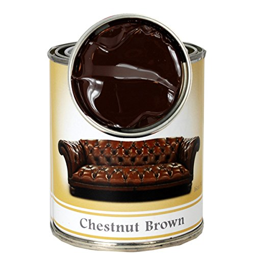 Leather Renew Stain (Easily Fix Faded Leather) Color: Chestnut (Rich Brown) ()