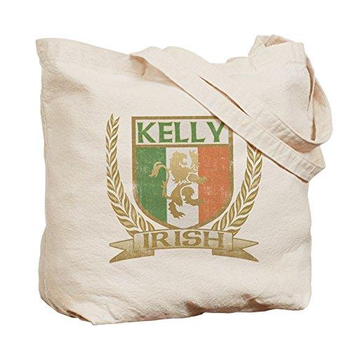 CafePress–Kelly Stemma irlandese–Borsa di tela naturale, panno borsa per la spesa