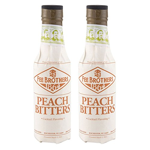 Cocktail Peach (Fee Brothers Peach Cocktail Bitters - 5 oz - 2 Pack)