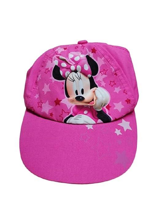 Disney Junior Gorra Minnie Niña Col. Rosa.: Amazon.es: Deportes y ...