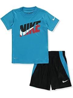 Nike Little Boys 2-Piece Outfit 6, Black