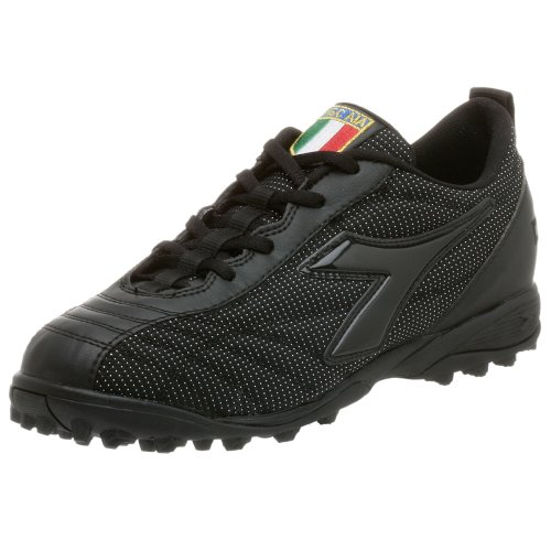 Diadora Mens Arbitre Football Turf Chaussure Noir / Noir