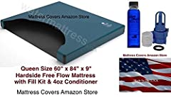 """Free Flow Mattress is super comfortable. If your queen size free flow mattress needs to be replaced then buy the best right here on Amazon. This Free flow mattress is manufactured By United States Water Mattress Queen 60""""w x 84""""l x 9"""" w/ Fill..."""