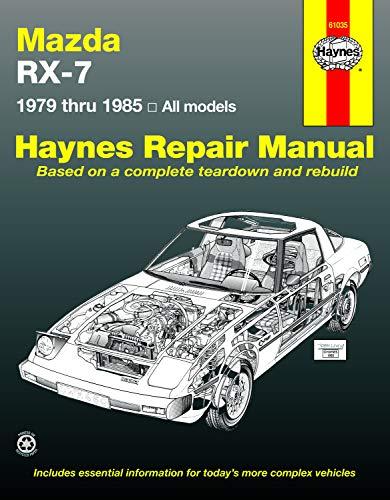 Mazda RX-7 Rotary  1979 thru 1985 All Models (Automative Repair Manual)