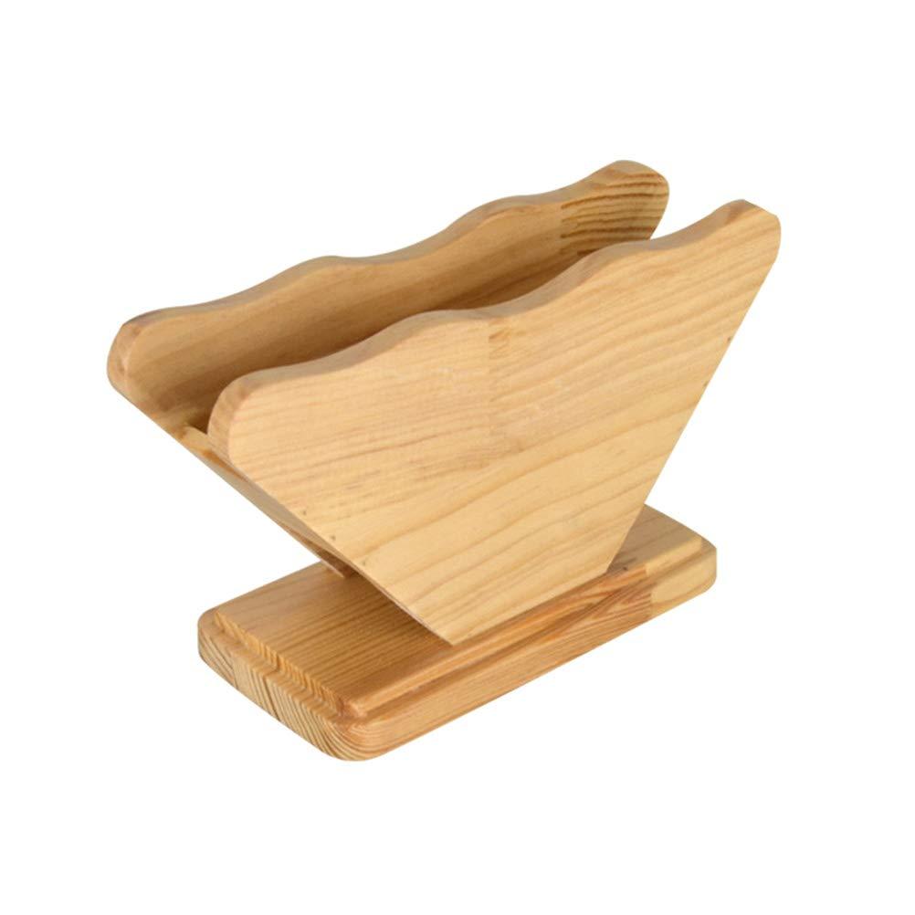 BESTONZON Portafiltro caffè in bambù, portafiltro erogatore caffè per filtri quadrati a forma di cono ea fondo piatto (forma di settore) Prezzi