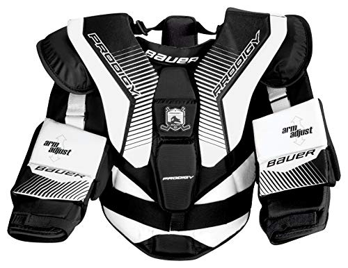 - Bauer S17 Prodigy 3.0 Youth Ice Hockey Goalie/Goaltender Chest Protector (Youth L/XL)