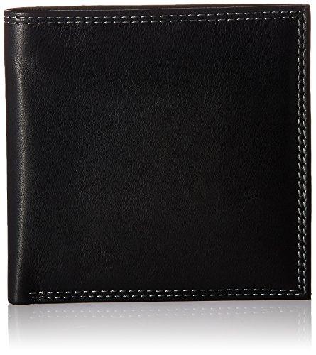 Style n Craft 300798-BL Black Bi-Fold hipster Wallet