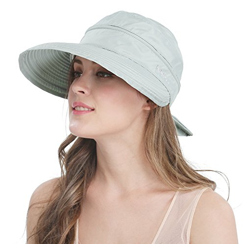Bellady Women's Wide Large Brim Sun Hat Swimming UPF UV Protection Hat Cap Chic Butterfly Beach Hat, (New Year Caps)