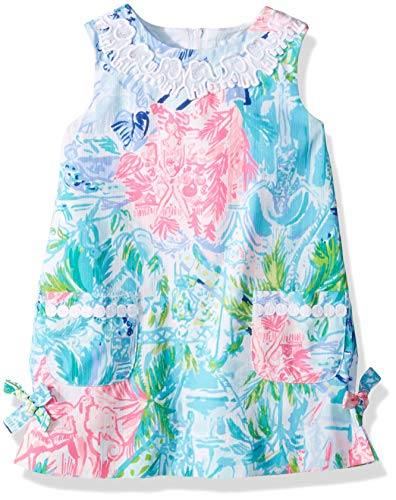 Pulitzer Shift Lilly (Lilly Pulitzer Girls Little Lilly Classic Shift, Multi Bohemian Queen, 5)