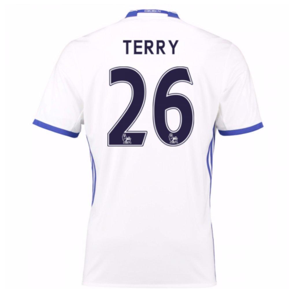 2016-17 Chelsea 3rd Football Soccer T-Shirt Trikot (John Terry 26) - Kids