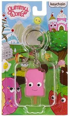 "Pink Cream Pop ~1.8"" Mini-Figure Keychain: Yummy World Keychain Series"