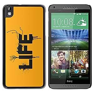 TECHCASE**Cubierta de la caja de protección la piel dura para el ** HTC DESIRE 816 ** LIFE