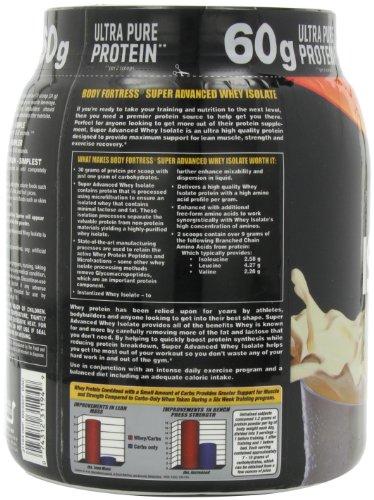 Body Fortress Super Advanced Whey Isolate Vanilla Creme 2 Pounds