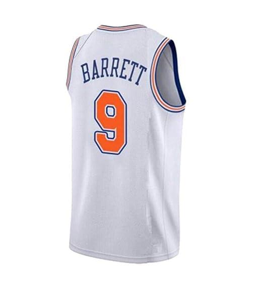 Jerseys para Hombre Chaleco Deportivo New York Knicks # 9 Barrett ...