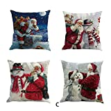 Whats the Difference Between King and California King Mattress iYBUIA Christmas Snowmen Printing Dyeing Sofa Bed Home Decor Pillow Cover Cushion Cover