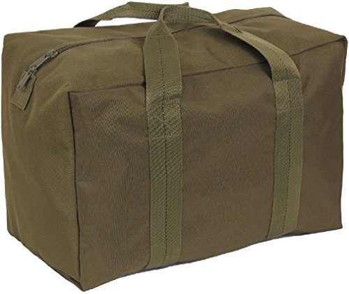 - Olive Drab Enhanced Nylon Air Force Large Carry Cargo Crew Bag