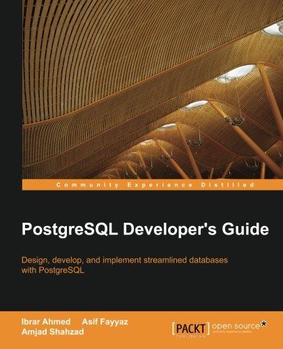 postgresql developer - 1