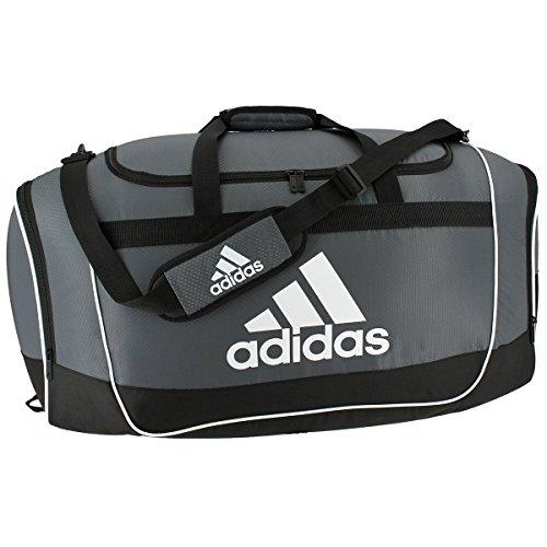 adidas Defender II Duffel Bag, Onyx, (Gear Duffel Bag)