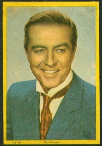 Ray Milland color movie star picture Argentina - Ray Argentina