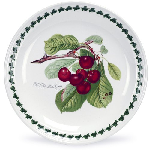 Portmeirion Pomona Earthenware 8-Inch Salad Plates, Set of 6