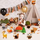 8 PCS Woodland Animals Honeycomb Centerpieces