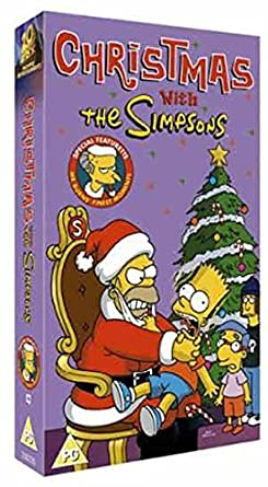 Christmas Simpsons.The Simpsons Christmas With The Simpsons Vhs 1990 Dan