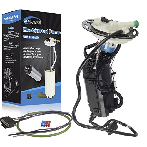 POWERCO Electric Gas Fuel Pump Replacement for Chevrolet Malibu 2006 07 V6-3.5L and Maxx LS LT LTZ E3591MN P76246M