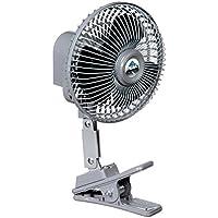 Peak PKC0JH 12-Volt 6-Inch Clip-on Fan