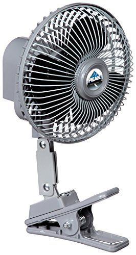 Peak PKC0JH 12-Volt 6-Inch Clip-on Fan