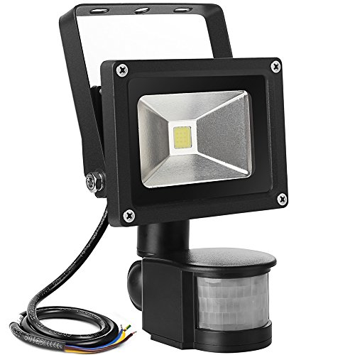 LE-10W-Super-Bright-Motion-Sensor-Flood-Light-Outdoor-LED-Flood-Lights-700lm-100W-Equivalent-6000K-Daylight-White-Waterproof-LED-Security-Light-PIR-Floodlight-Basement-Light