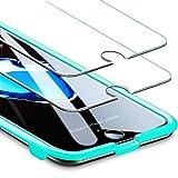 ESR Screen Protector for iPhone 8 Plus/7 Plus/6s Plus/6 Plus [2 Pack] [Free Installation Frame], Premium Tempered Glass Screen Protector for iPhone 8 P/7 P/6sP/6P 5.5''