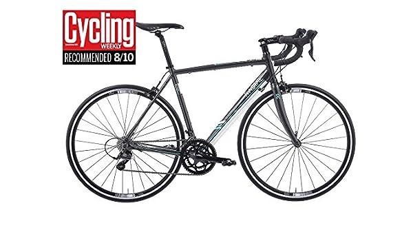 Bicicleta de carretera de Aluminio Radial 2.1 retroceso, Revere 2.1, Dark Grey / White: Amazon.es: Deportes y aire libre