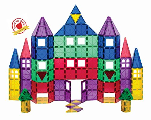 Playmags 100 Piece Super Set Magnetic Tiles