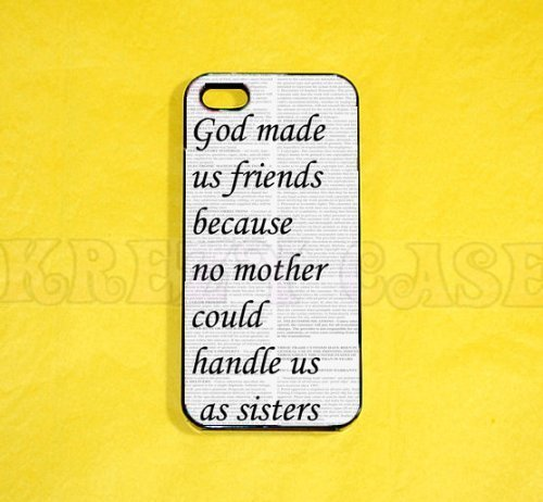 Best Friend Quote Iphone 5 Case - For Iphone 5, iPhone 5 cover