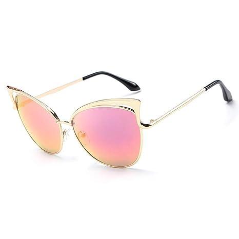 Gafas Gafas Mujer Gafas de Sol Personalidad Moda Ojo de Gato ...