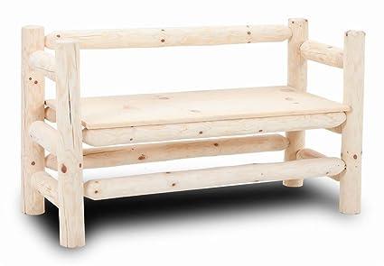 watch 44f41 ec639 Amazon.com: Chelsea Home Fairhaven Log Boot Bench: Kitchen ...