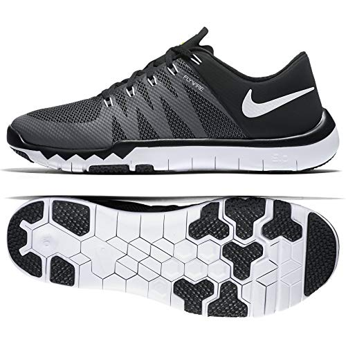 premium selection 531f8 a8d87 NIKE Men s Free Trainer 5.0 Black Dark Grey Volt White 719922-010 (Size   10.5)