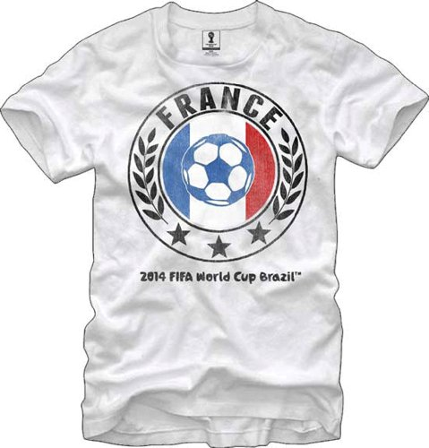 FIFA Officially Licensed Brazil World Cup T-shirt Team France-XL