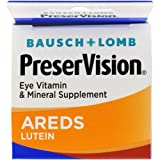 Bausch + Lomb Preservision With Lutein Eye Vitamin