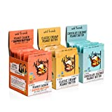 Wild Friends Foods Natural Peanut Butter Variety Packets, Gluten Free, Palm Oil Free, 30 Count