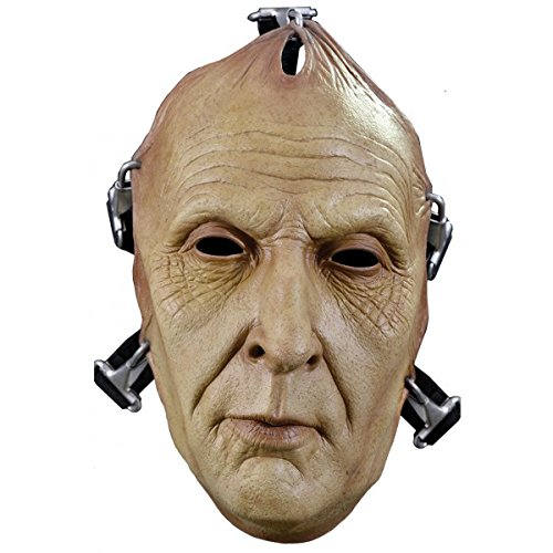 Trick or Treat Studios Men's Saw-Jigsaw Death Face Mask, Multi, One Size