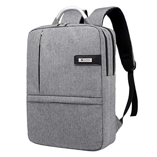 Laptop Backpack for Women Men,Capacity Travel Bookbag College Stylish Classic Daypack (Gray)