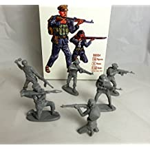 Mars Company: Vietnam War Vietcong, 18 figures in 6 poses, 54mm Offered By Classic Toy Soldiers, Inc by Mars