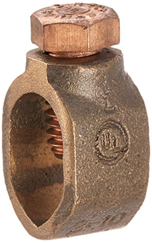 Halex 93591 1/2-Inch Ground Rod Clamp