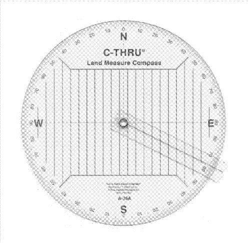 Quadrant Arm - Westcott A-26A Land Measure Compass W/Arm