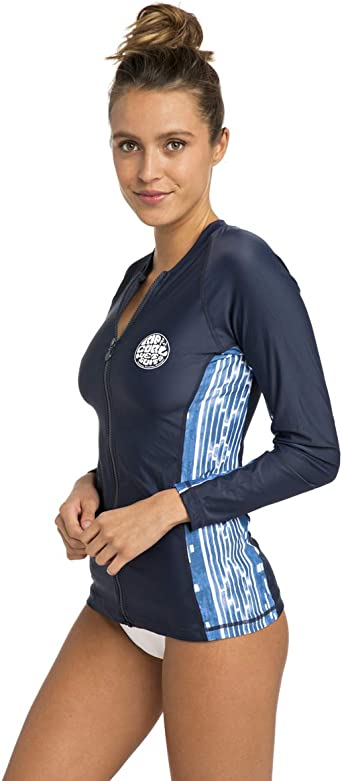 MOONTIDE Zip Cap Sleeve UV Rash Guard